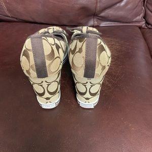 Coach Shoes - Coach wedge shoes